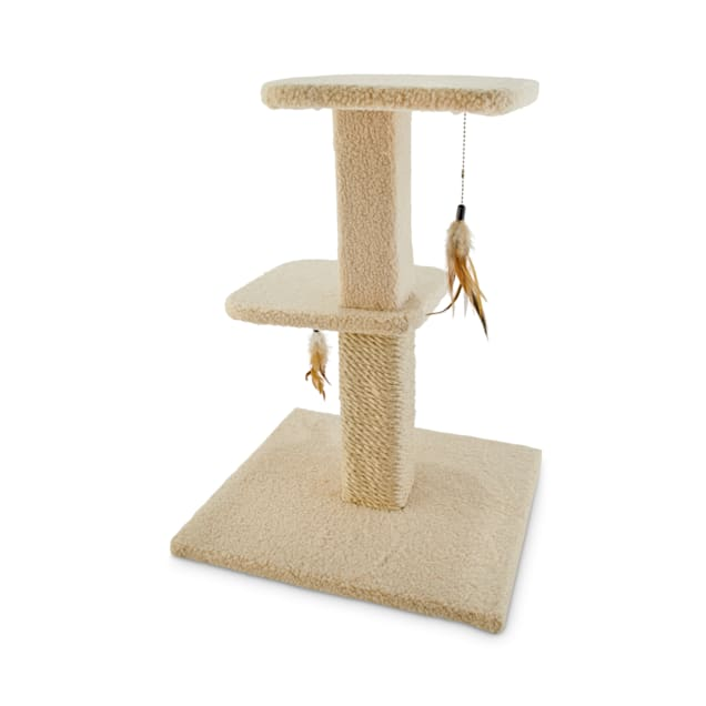 "You & Me Snooze Studio 2-Level Cat Tree, 25"" H - Carousel image #1"