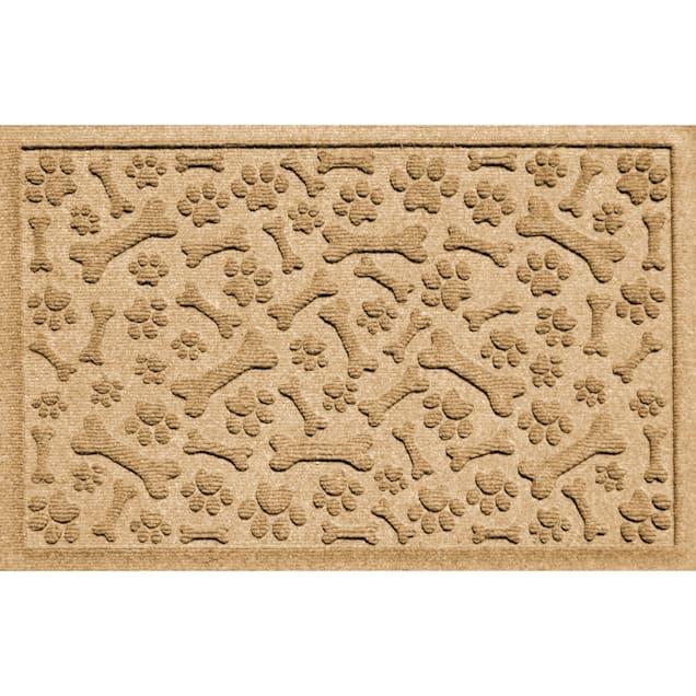 "Bungalow Flooring Paws & Bones Gold Dog Mat36"" L x 24"" W - Carousel image #1"