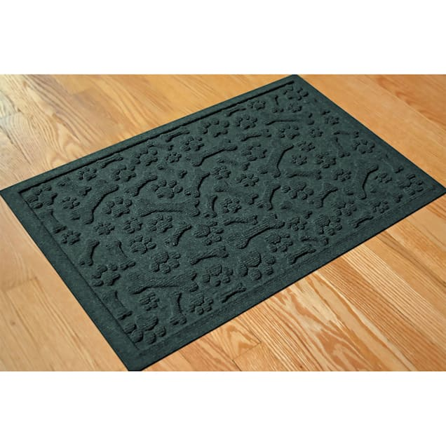 "Bungalow Flooring Paws & Bones Evergreen Dog Mat, 36"" L x 24"" W - Carousel image #1"