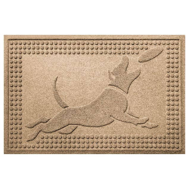 "Bungalow Flooring Flying Khaki Dog Mat, 36"" L x 24"" W - Carousel image #1"
