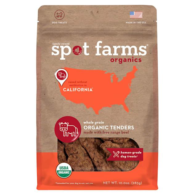 Spot Forms Organic Beef Jerky Dog Treats, 10 oz. - Carousel image #1