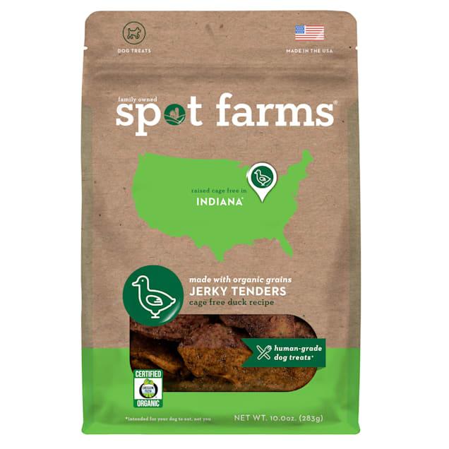 Spot Forms Organic Duck Jerky Dog Treats, 10 oz. - Carousel image #1