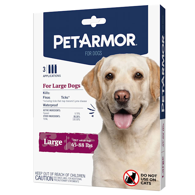 PetArmor Flea & Tick Squeeze for Dogs 45 to 88 lbs, Pack of 3 - Carousel image #1