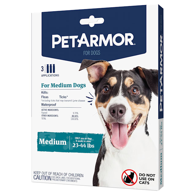 PetArmor Flea & Tick Squeeze-On Dogs 23-44 lbs, Pack of 3 - Carousel image #1