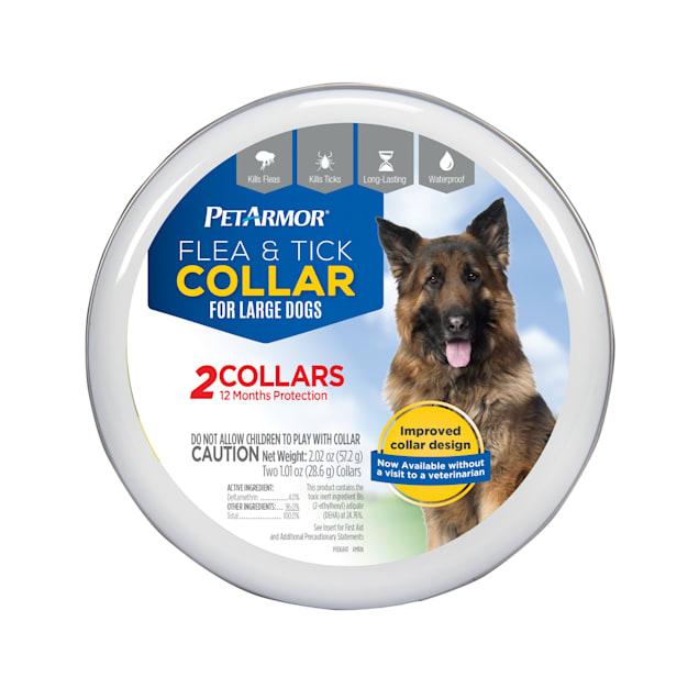 PetArmor Flea & Tick Collar for Dogs, Large - Carousel image #1