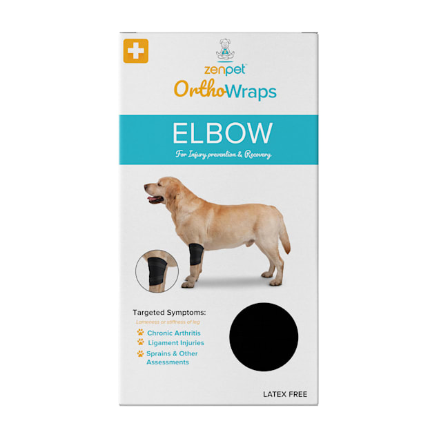 ZenPet OrthoWrap Elbow Latex-Free Supplement for Dogs, X-Large - Carousel image #1