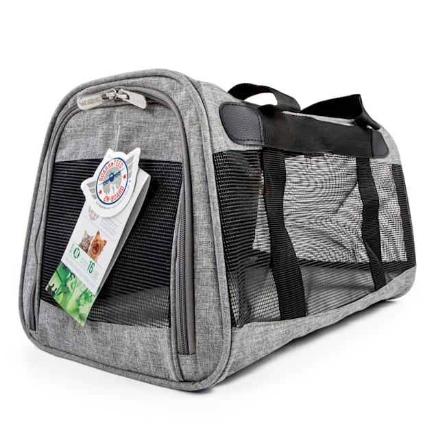 "Sherpa Element Gray Dog Carrier, 17"" L X 11.25"" W X 10.5"" H - Carousel image #1"