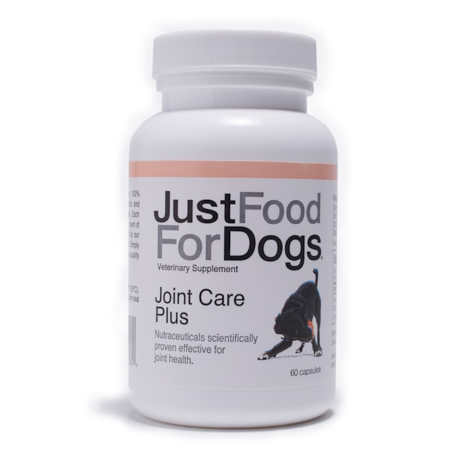 JustFoodForDogs Supplement Joint Care Plus Capsules, Count of 60 - Carousel image #1