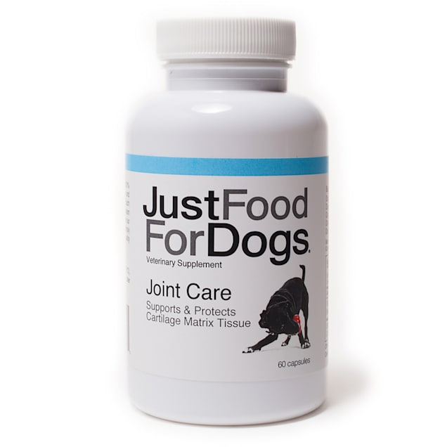 JustFoodForDogs Supplement Joint Care Capsules, Count of 60 - Carousel image #1