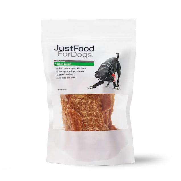 JustFoodForDogs Snacks Chicken Breast Dog Treats, 18 oz. - Carousel image #1