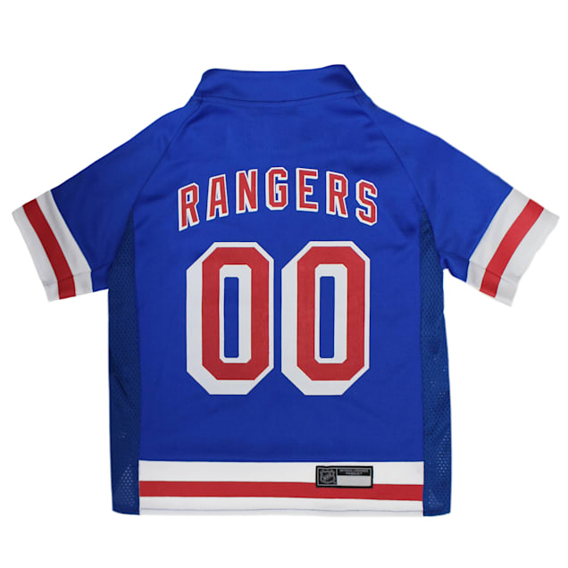 Pets First New York Rangers Dog Jersey, X-Small - Carousel image #1