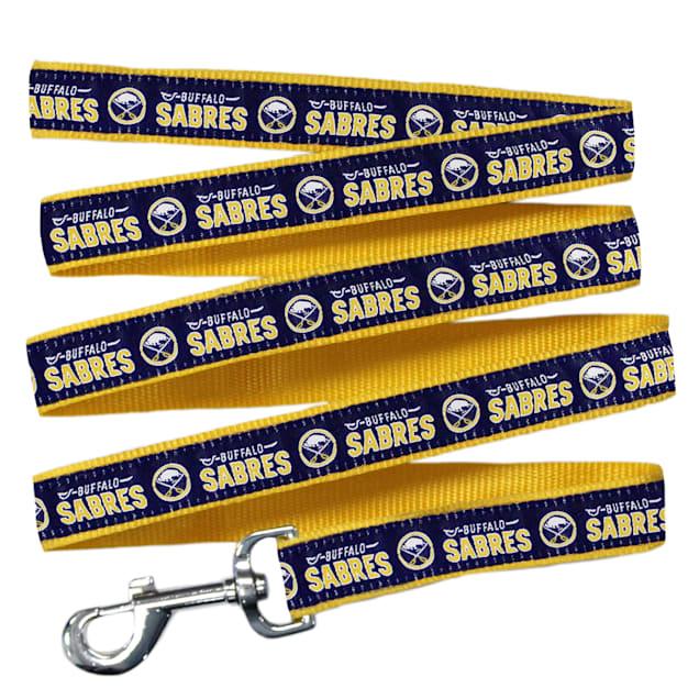 Pets First Buffalo Sabres Dog Leash, Medium - Carousel image #1