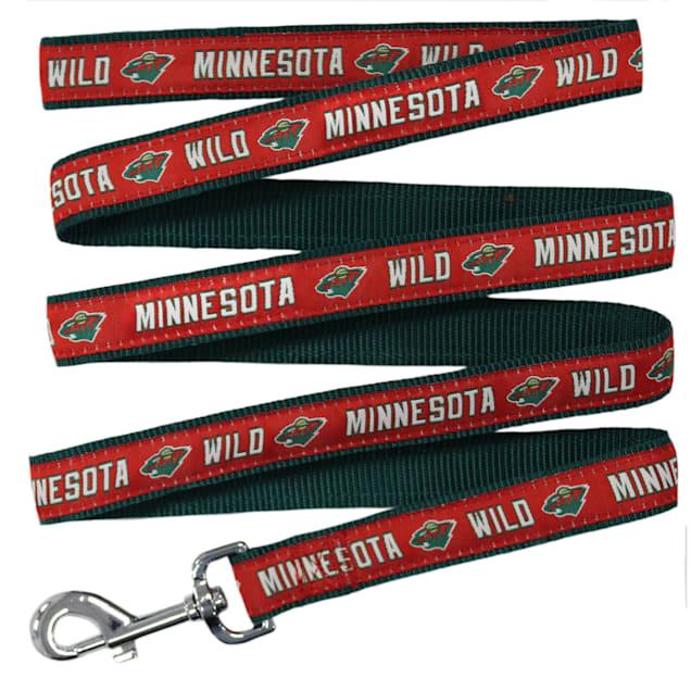 Pets First Minnesota Wild Dog Leash, Medium - Carousel image #1