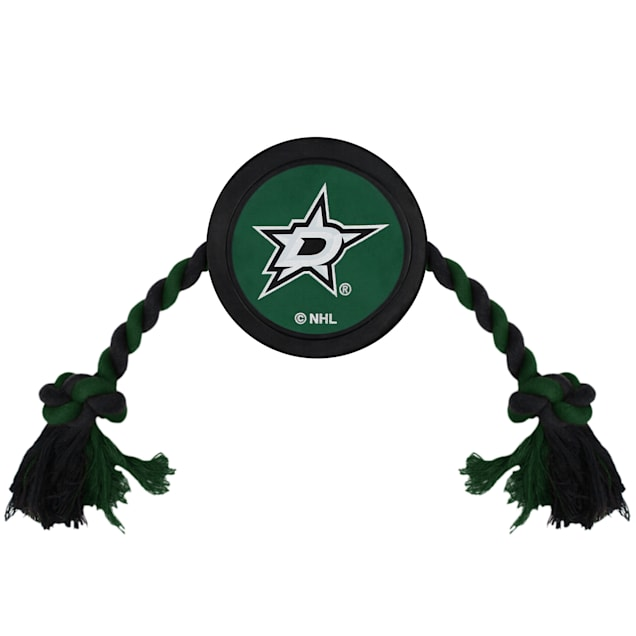 Pets First Dallas Stars Hockey Puck Toy for Dogs, X-Large - Carousel image #1