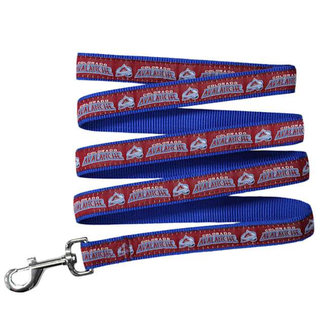 Pets First Colorado Avalanche Dog Leash, Medium - Carousel image #1