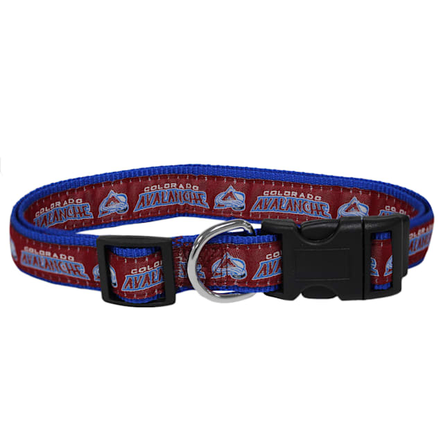 Pets First Colorado Avalanche Dog Collar, Small - Carousel image #1