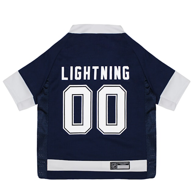 Pets First Tampa Bay Lightning Dog Jersey, X-Small - Carousel image #1