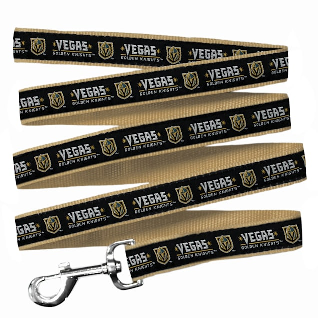Pets First Vegas Golden Knights Dog Leash, Large - Carousel image #1