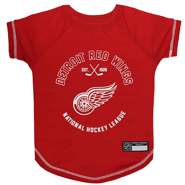 Pets First Detroit Red Wings Dog T-Shirt, X-Small - Carousel image #1