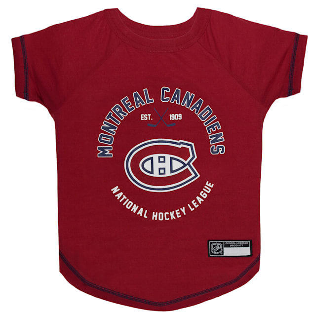 Pets First Montreal Canadiens Dog T-Shirt, X-Small - Carousel image #1