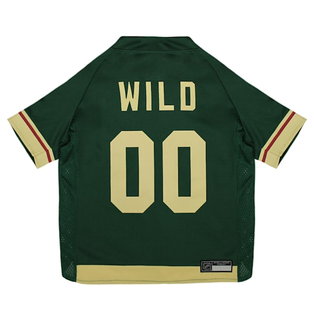 Pets First Minnesota Wild Dog Jersey, X-Small - Carousel image #1