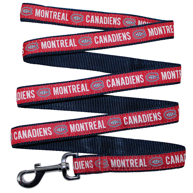 Pets First Montreal Canadiens Dog Leash, Large - Carousel image #1