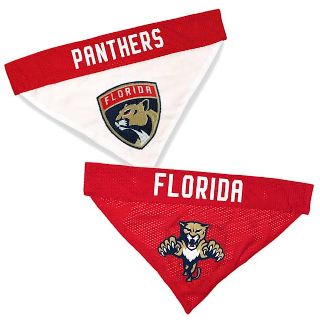 Pets First Florida Panthers Reversible Dog Bandana, Small/Medium - Carousel image #1