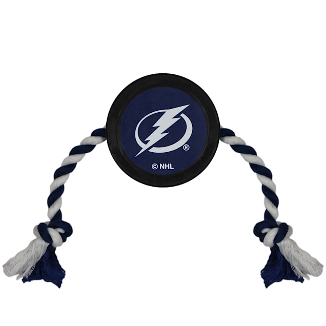 Pets First Tampa Bay Lightning Hockey Puck Toy for Dogs, Large - Carousel image #1