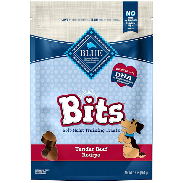 Blue Buffalo Blue Bits Tender Beef Soft-Moist Training Dog Treats, 16 oz. - Carousel image #1