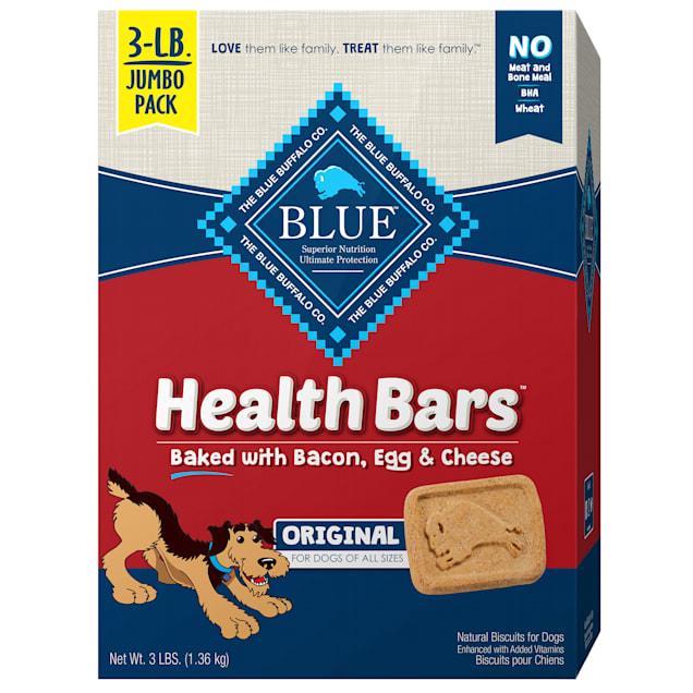Blue Buffalo Health Bar Bacon Egg & Cheese Dog Treat, 3 LBS - Carousel image #1