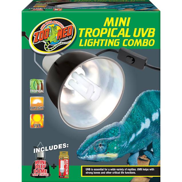 Zoo Med Mini Tropical UVB Lighting Single Combo, 100 Watt - Carousel image #1