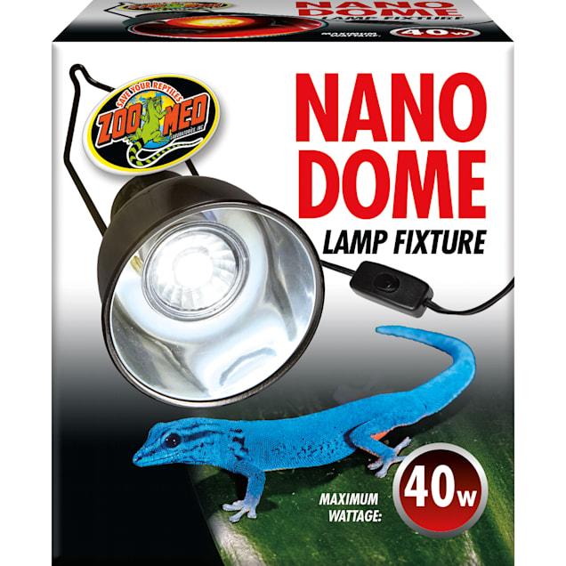 Zoo Med Nano Dome Single Lamp Fixture, 100 Watt - Carousel image #1