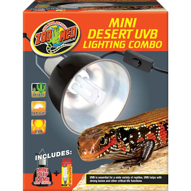 Zoo Med Mini Desert UVB Lighting Single Combo, 100 Watt - Carousel image #1