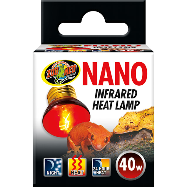Zoo Med Nano Infrared Heat Lamp, 40 Watt - Carousel image #1