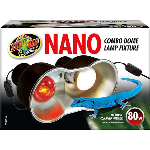 Zoo Med Nano Combo Dome Lamp Fixture, 100 Watt - Carousel image #1