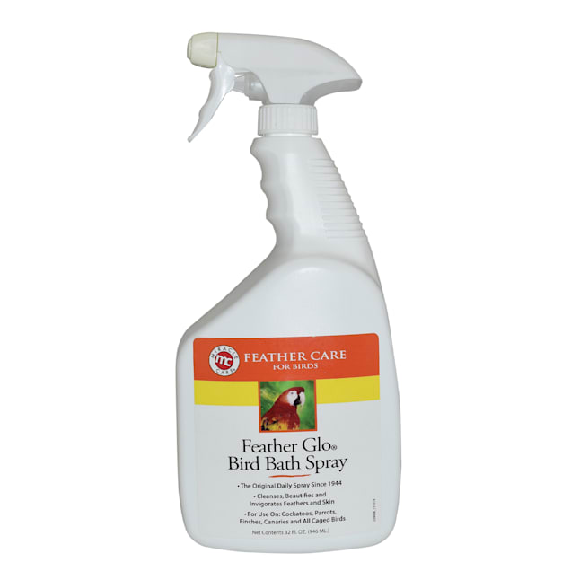 Miracle Care Feather Glo Bird Bath Spray for Birds, 32 oz. - Carousel image #1