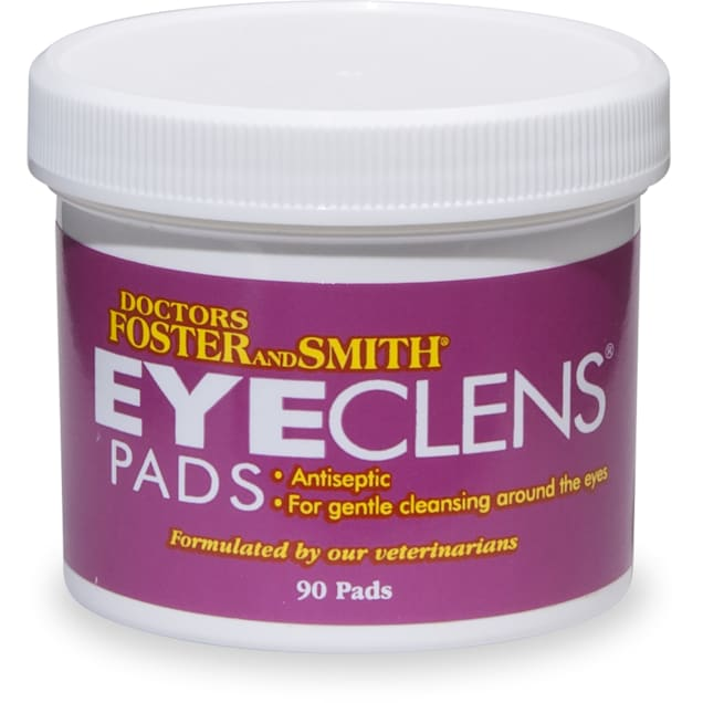 Drs. Foster and Smith Eye Clens Pads, 3 Packs of 90 - Carousel image #1
