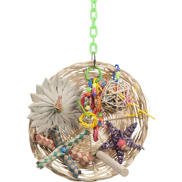 Super Bird Creations Busy Birdie Play Perch Bird Toy - Carousel image #1