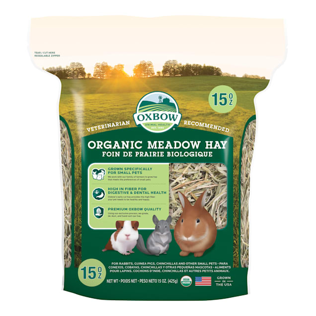 Oxbow BeneTerra Organic Meadow Hay, 15 oz. - Carousel image #1