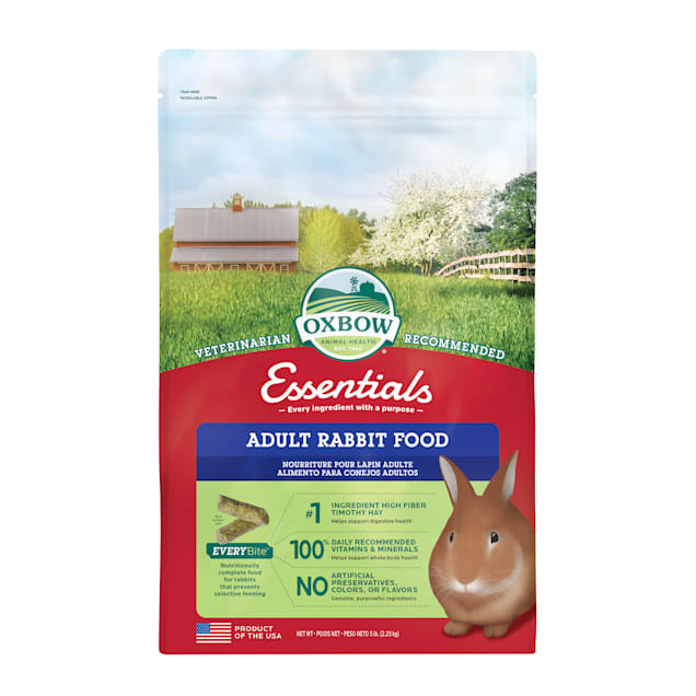 Oxbow Essentials Adult Rabbit Food, 5 lbs. - Carousel image #1