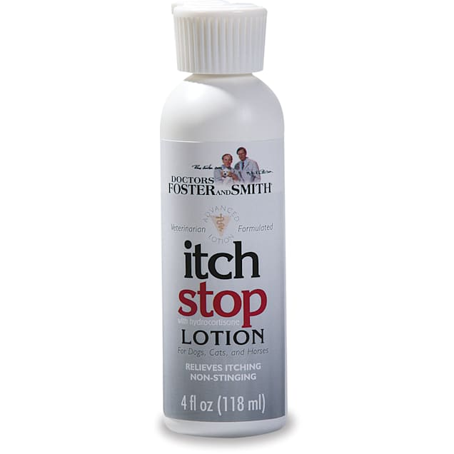 Drs. Foster and Smith Itch Stop Lotion for Dogs, Cats and Horses, 4 fl. oz. - Carousel image #1