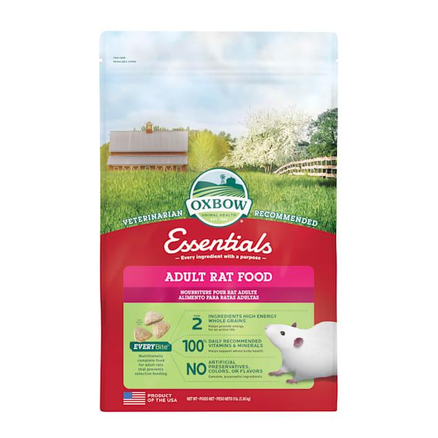 Oxbow Essentials Adult Rat Food, 3 lbs. - Carousel image #1
