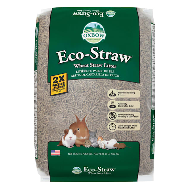 Oxbow Eco Straw Pelleted Wheat Straw Litter for Small Animals, 20 lbs. - Carousel image #1