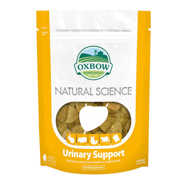 Oxbow Natural Science Urinary Support Hay Tabs, 4.2 oz., Count of 60 - Carousel image #1