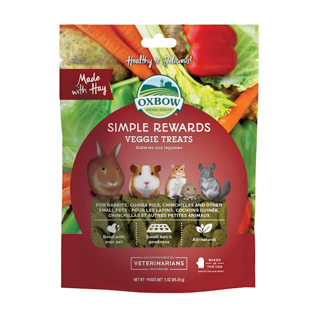 Oxbow Simple Rewards Veggie Small Animal Treats, 3 oz. - Carousel image #1