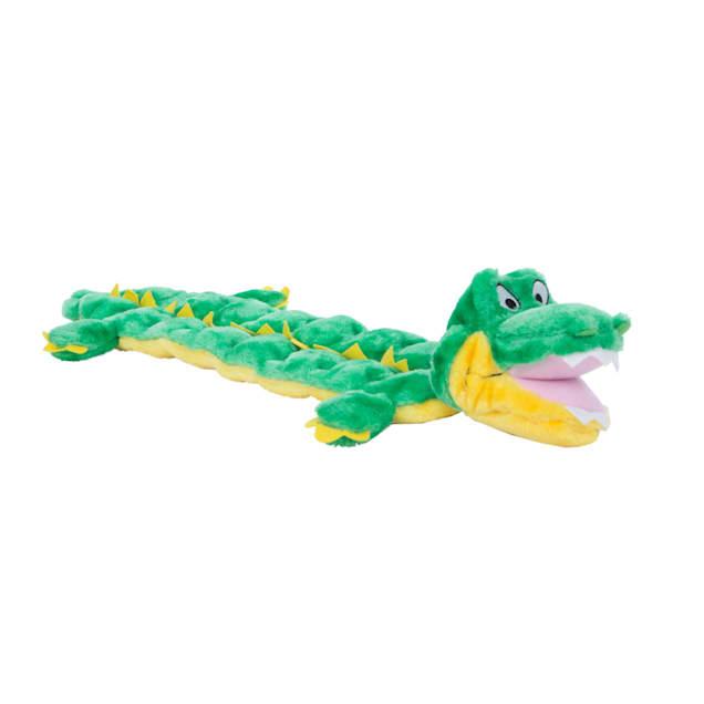 Outward Hound Mega Squeaks Gator Plush Dog Toy, Medium - Carousel image #1