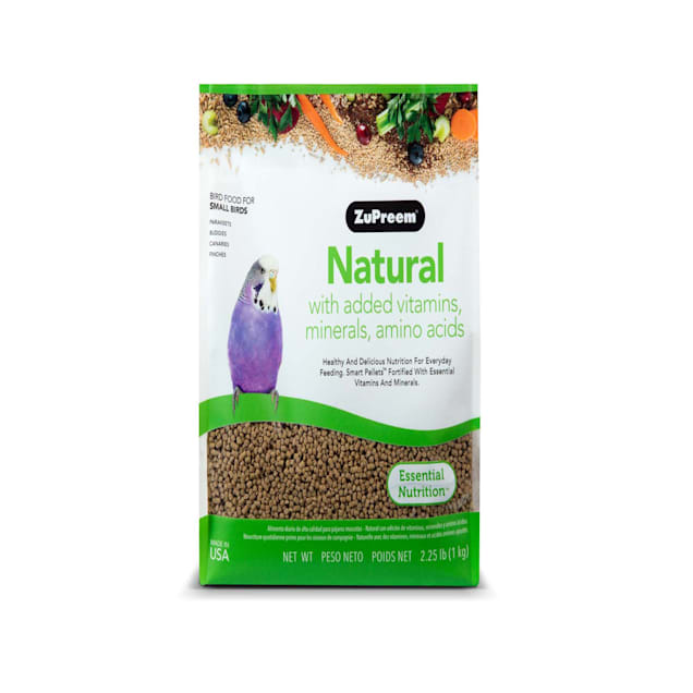 ZuPreem Natural Premium Daily Bird Food for Small Birds, 2.25 LBS - Carousel image #1