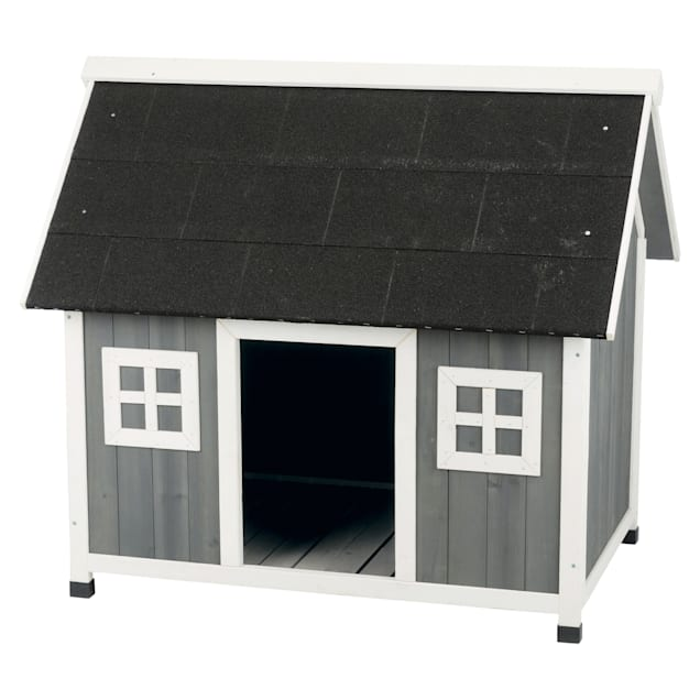 "Trixie Natura Barn Style House Dog Kennel, 42.75"" L x 31.5"" W x 39.25"" H - Carousel image #1"