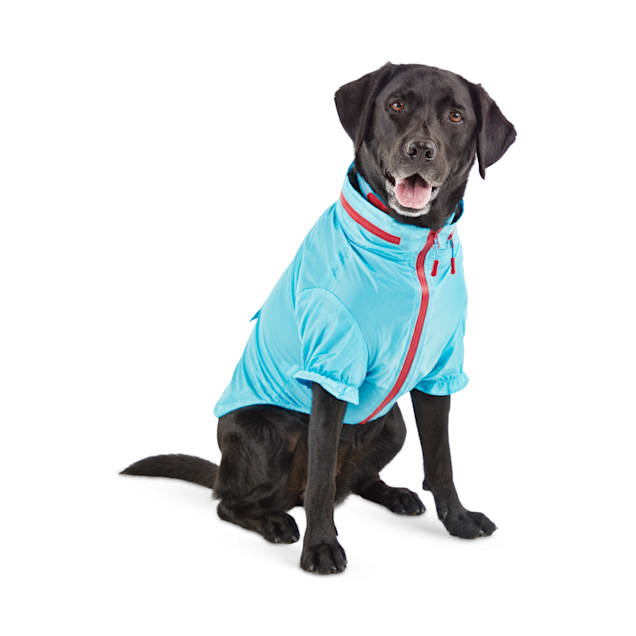 Reddy Cerulean Blue Dog Windbreaker, X-Small - Carousel image #1