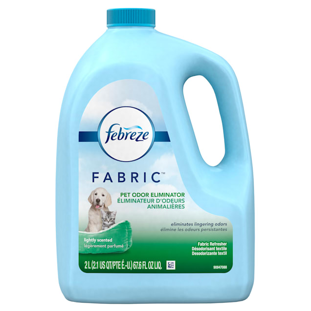 Febreze Fabric Refresher Dog Cleanup Pet Odor Eliminator, 67.6 fl. oz. - Carousel image #1